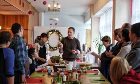 Cynamonki z jaglanym kremem a'la nutella & fotorelacja z warsztatów w Bielsku-Białej!