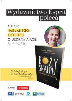 BOŻY SKALPEL - Uzdrowienie postem! Najnowsza książka już w księgarniach!