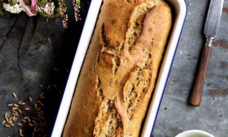 Benedyktyński chleb orkiszowy