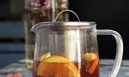 Napar tymiankowy z pomarańczą i nutą cynamonu